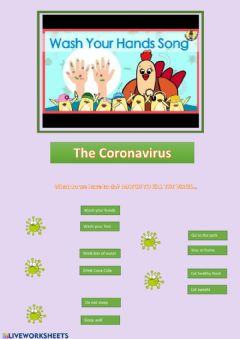 Interactive worksheet Coronavirus 1