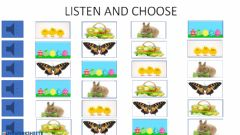 Ficha interactiva Easter: listen and choose