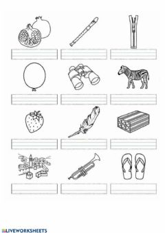Interactive worksheet Trabadas