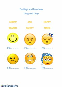 Interactive worksheet Feelings and emotions 1