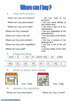 Interactive worksheet Where can I buy?