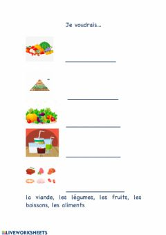 Interactive worksheet Free fill in the words