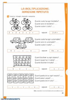 Interactive worksheet Schieramenti