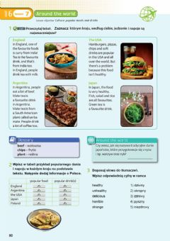 Interactive worksheet Polular meals and drinks around the world