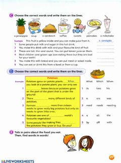 Interactive worksheet Fun for Movers