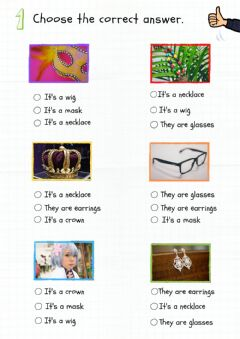 Interactive worksheet Faces