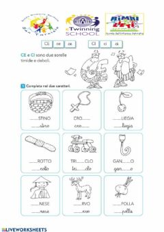 Interactive worksheet CE e CI