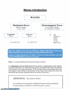 Ficha interactiva Waves 1: Intro