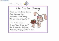 Interactive worksheet The easter bunny