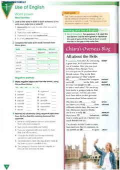 Interactive worksheet B2 First Use of English