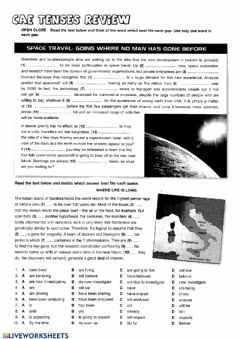 Interactive worksheet CAE Use of English