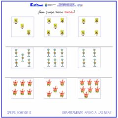Interactive worksheet Conjunto menor
