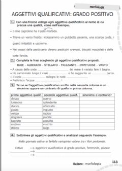 Interactive worksheet AGGETTIVI QUALIFICATIVI