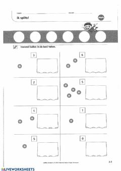 Interactive worksheet Zowiso - P1 - les2
