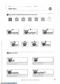 Interactive worksheet Zowiso - P1 - les3