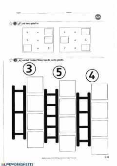 Interactive worksheet Zowiso - P1 - les6