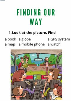 Interactive worksheet Finding our way