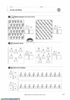 Interactive worksheet Zowiso - P2 - les1