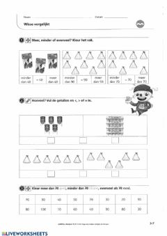 Interactive worksheet Zowiso - P2 - les4