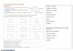 Interactive worksheet Assi di simmetria