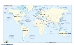 Interactive worksheet Gulf - Map Of the World