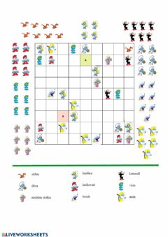 Interactive worksheet Smurf SUDOKU