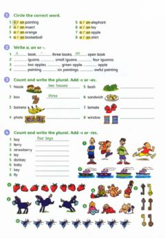 Interactive worksheet GT2 articles-plurals