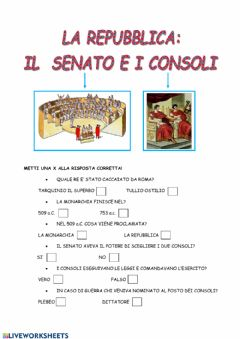 Interactive worksheet La repubblica