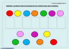 Interactive worksheet Copia el modelo