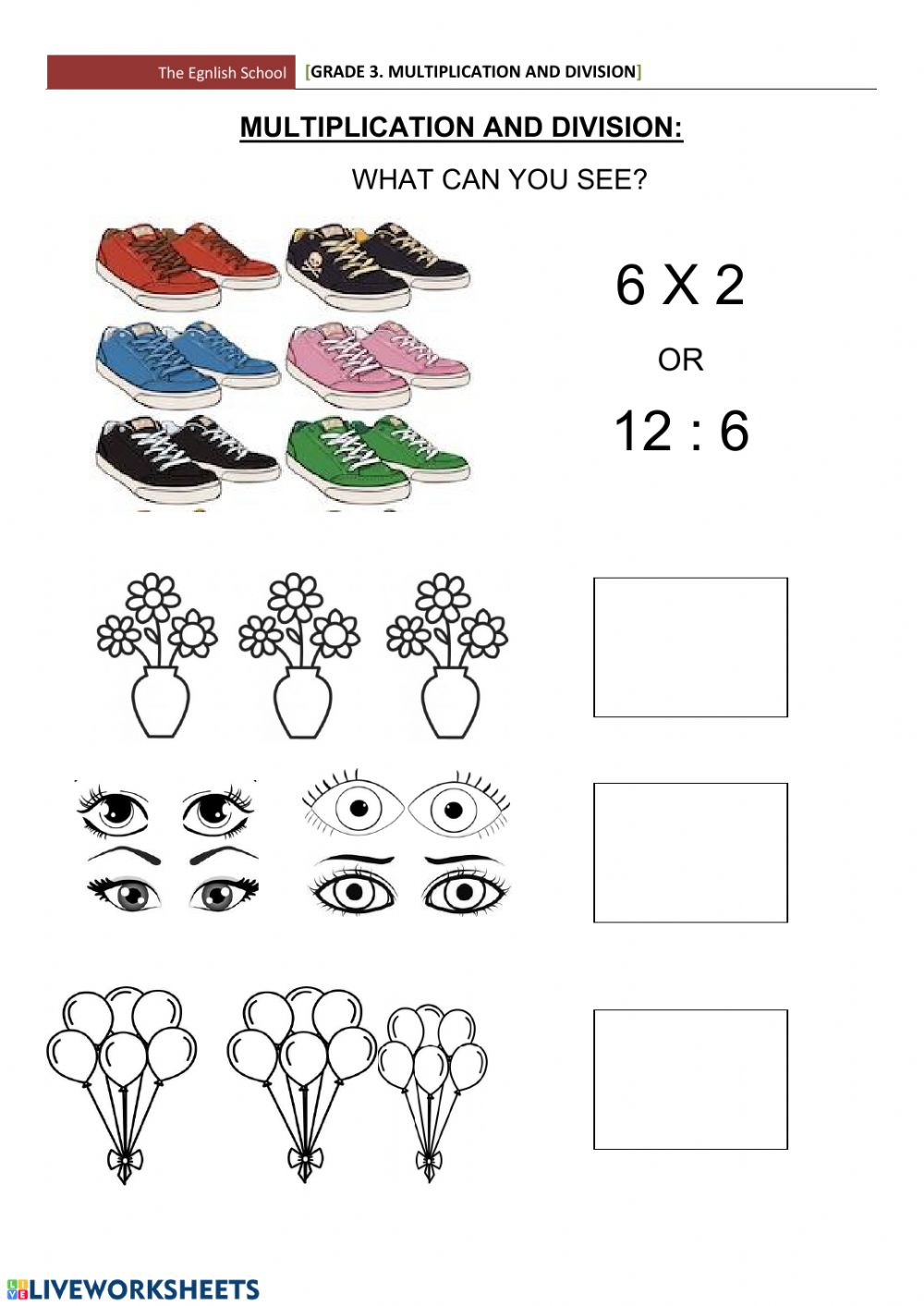 Grade 3 Mathematics Worksheet