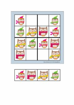 Interactive worksheet sudoku buhos 1