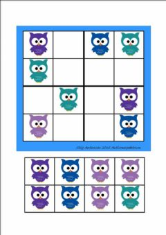 Interactive worksheet sudoku buhos 2