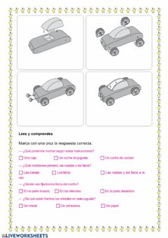 Interactive worksheet Texto instructivo