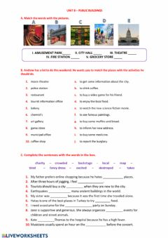 Interactive worksheet 7th Grade - Unit 8 - Worksheet 2