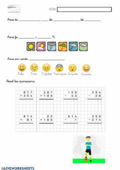 Interactive worksheet Rutina 8