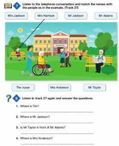 Interactive worksheet Grade 6 Unit 8 Bookworms Page 111