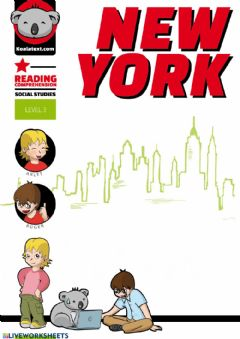 Interactive worksheet New york