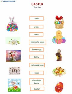 Interactive worksheet Easter Match 1