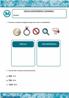 Interactive worksheet Divisiones 5