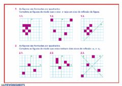 Interactive worksheet Isometrias 6.1