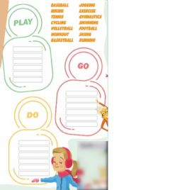 Interactive worksheet Go-Do-Play