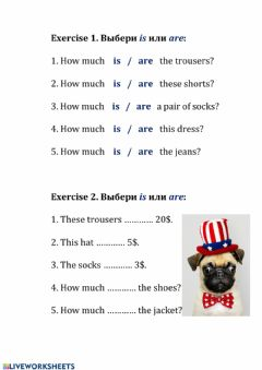 Interactive worksheet How much is this