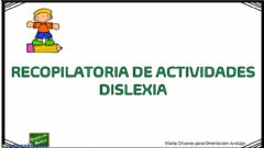 Interactive worksheet Fichas dislexia