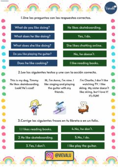 Interactive worksheet Free time-tiempo libre