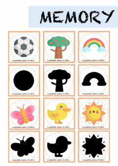 Interactive worksheet Sombras