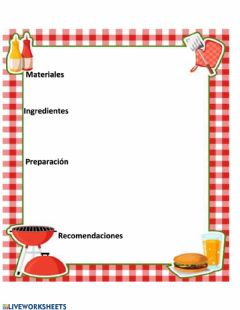Interactive worksheet Plantilla