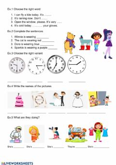Interactive worksheet Review 4 F&F