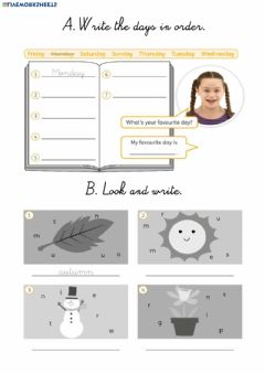 Interactive worksheet Unit Starter Review 2nd