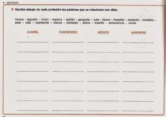 Interactive worksheet Asociación