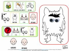 Interactive worksheet Emociones. enfadado